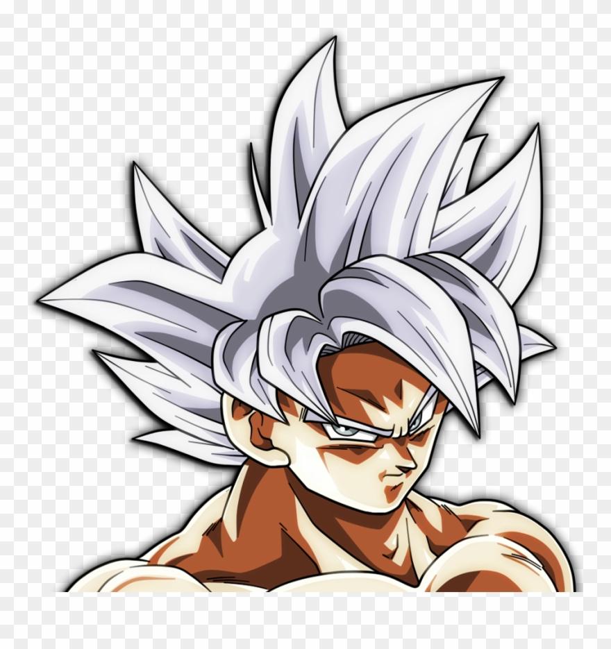 Ultra Instinct Goku Png Clipart (#3092345).