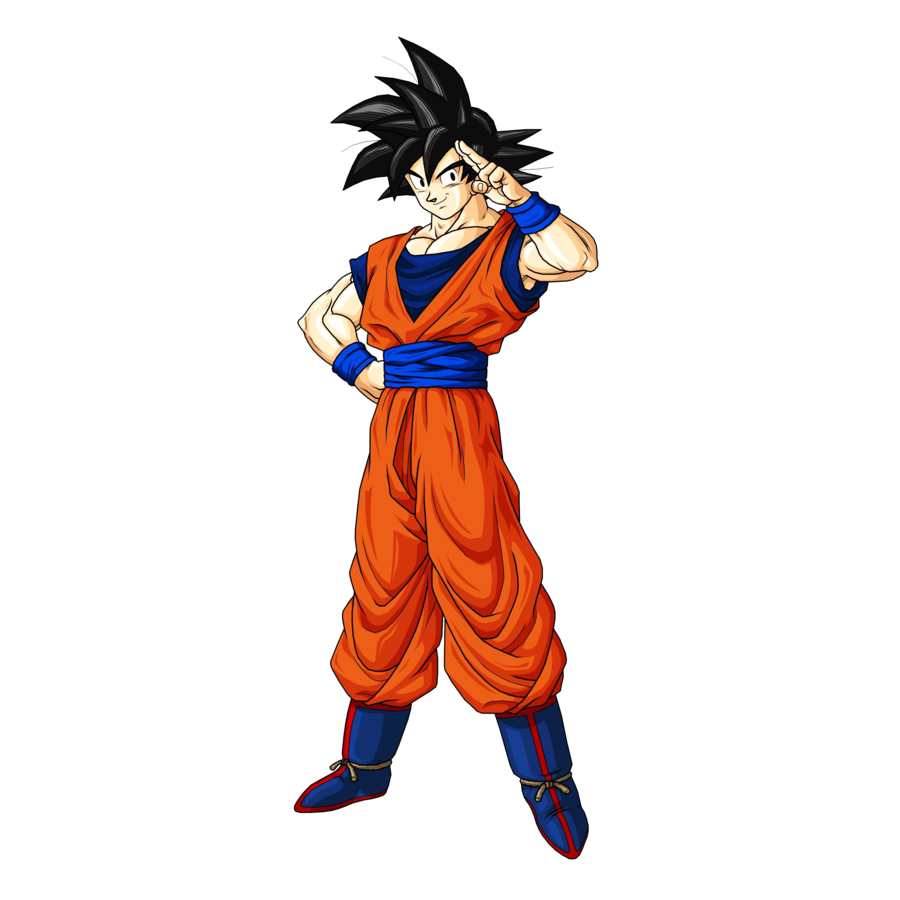 Goku PNG Images Transparent Free Download.