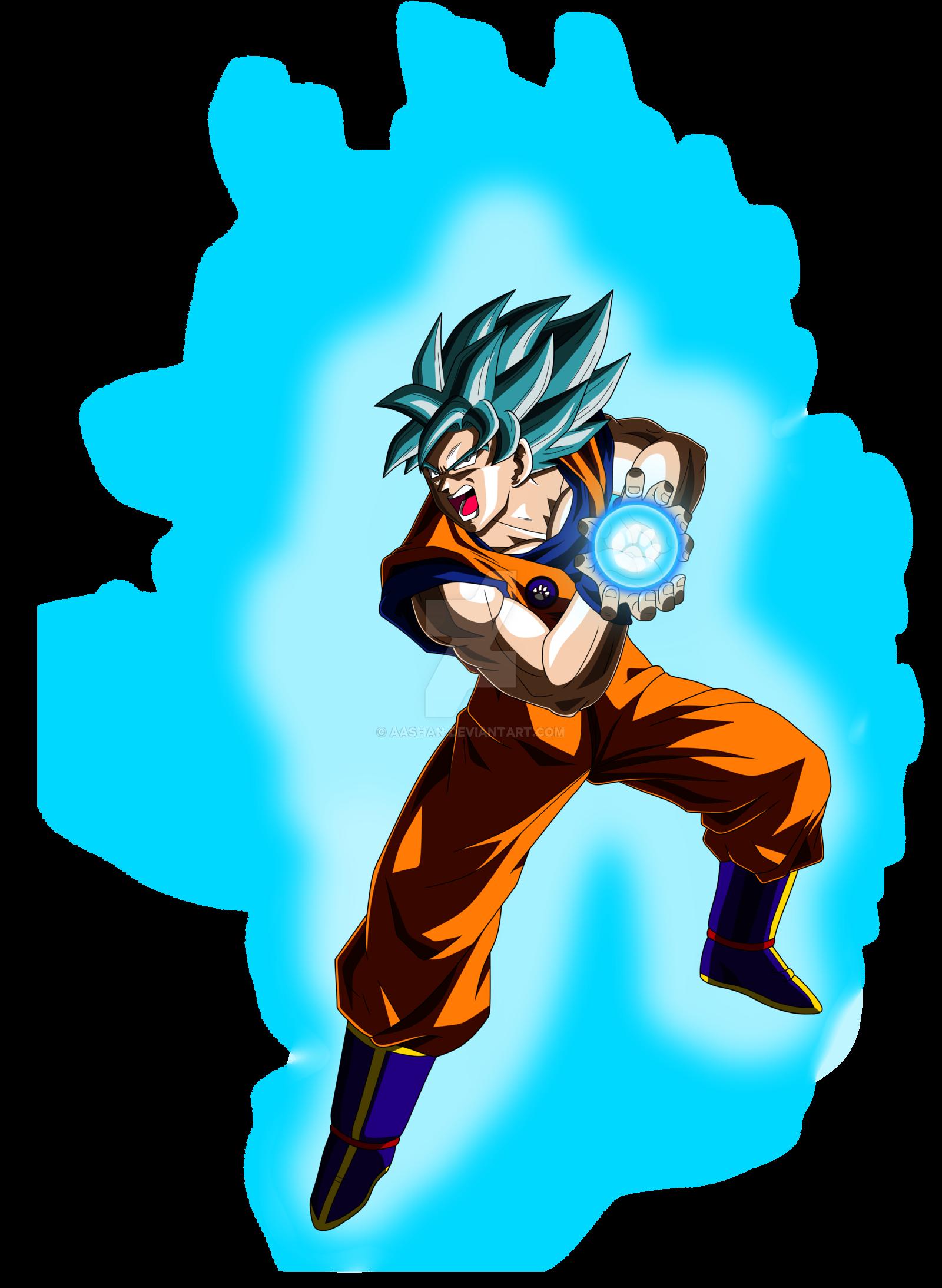 Goku Ssj Blue Clipart.