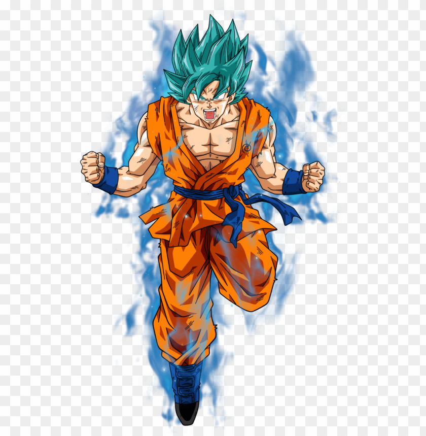 oku super saiyan png clipart transparent.