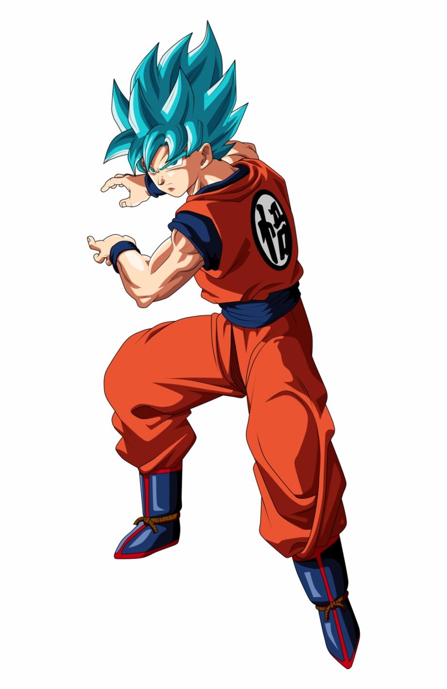 Goku Super Saiyan Blue By Frost Z.