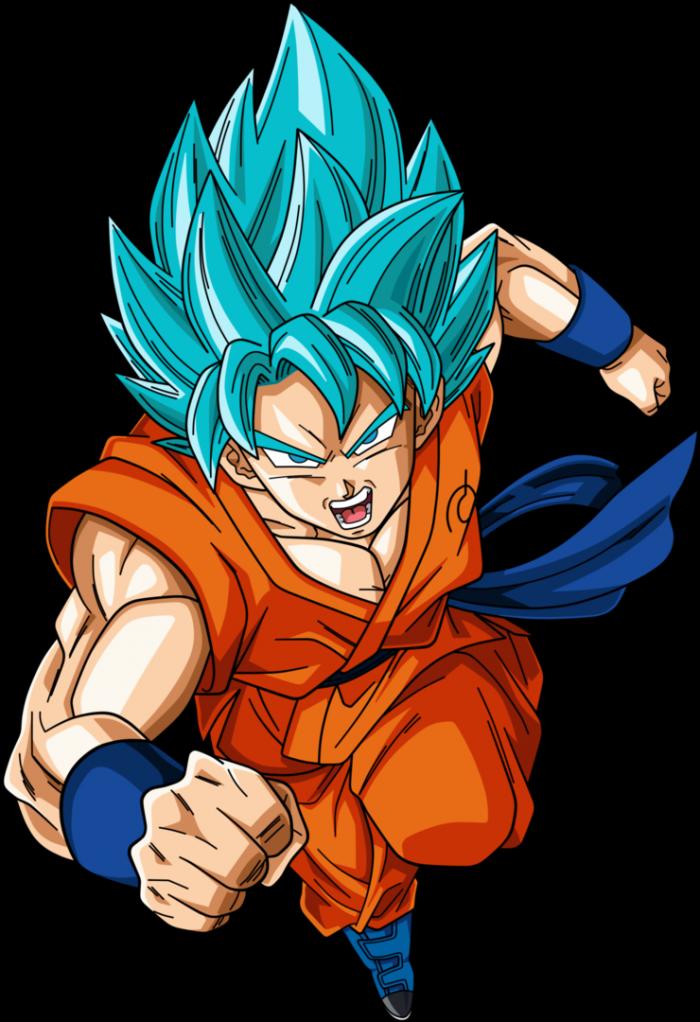 Goku Super Saiyan Blue Png Vector, Clipart, PSD.
