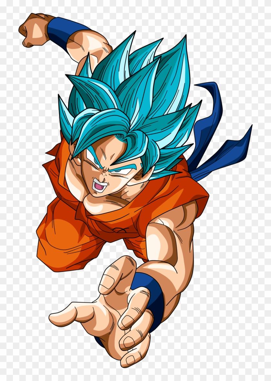 Goku Blue Png.