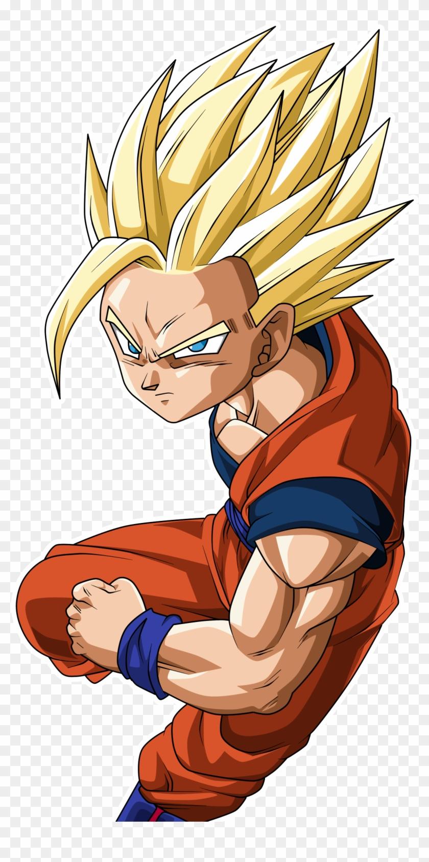 Goku Clipart Super Saiyan2.
