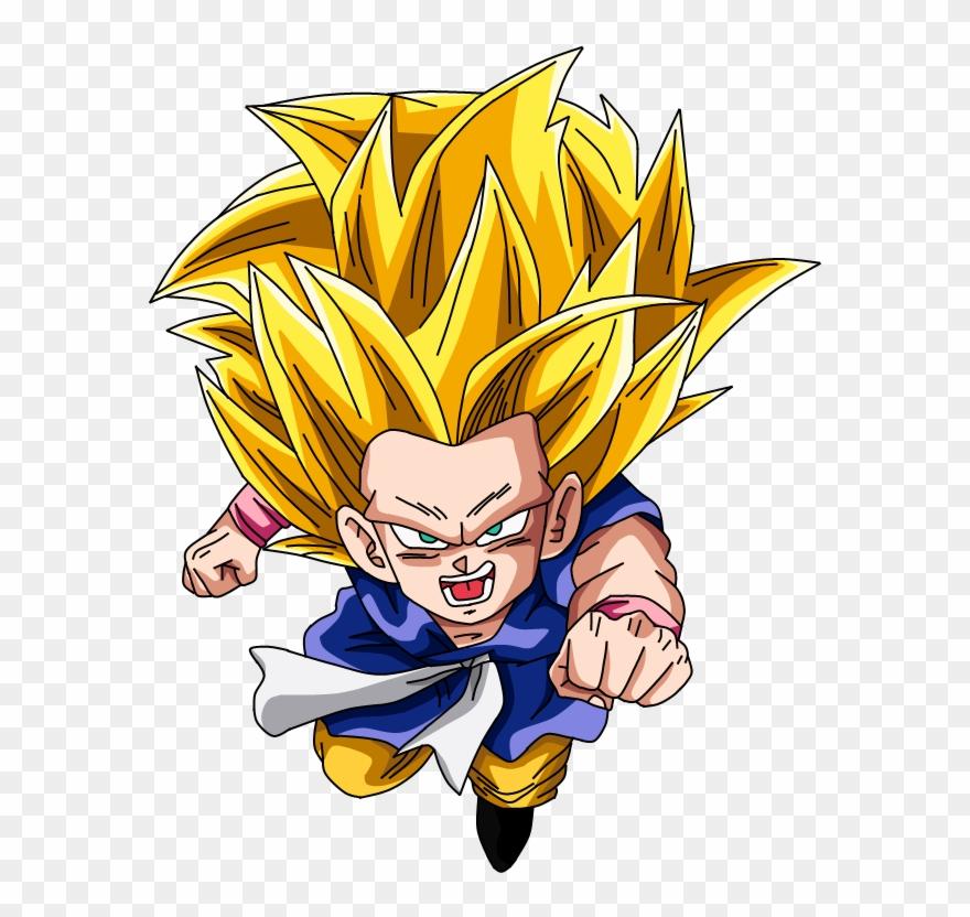 Goku Clipart Super Saiyan3.