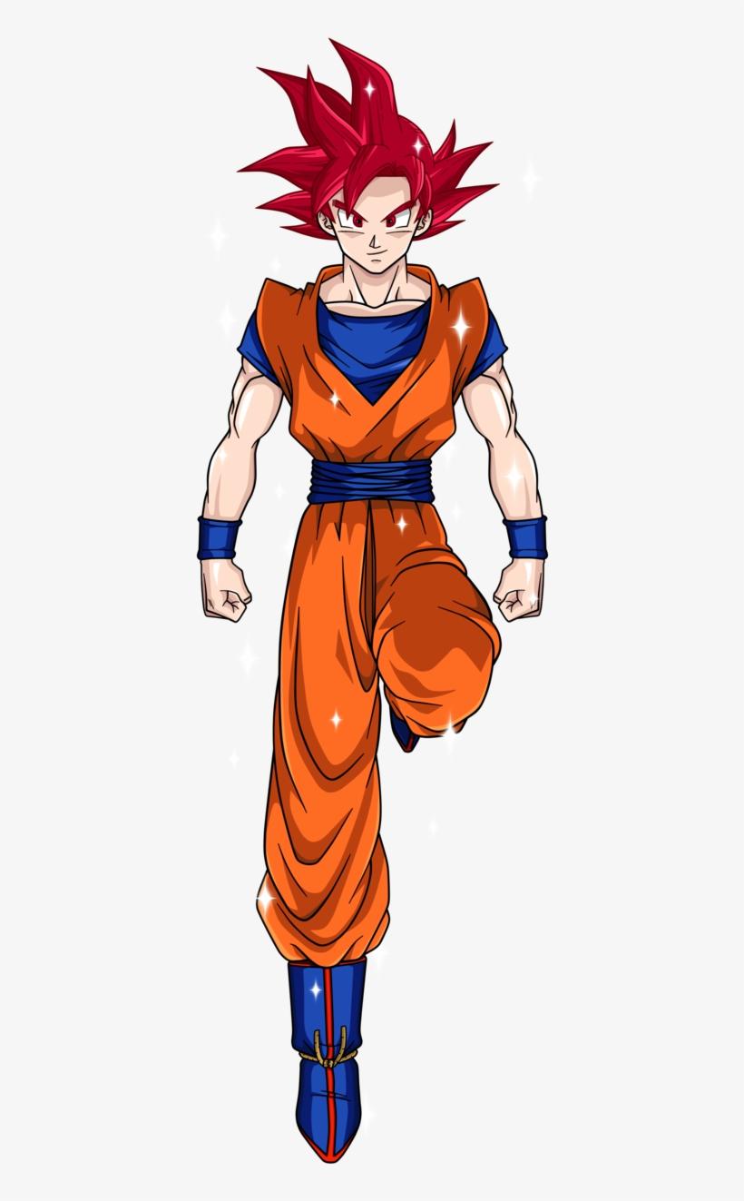 Goku Super Saiyajin Dios.