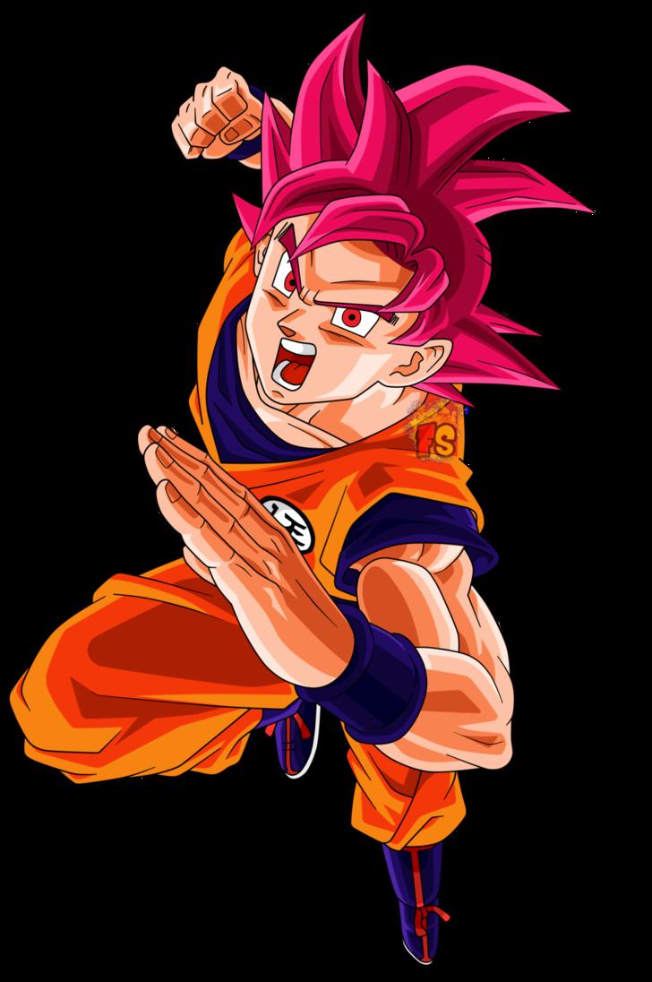 Goku ssj dios png 4 » PNG Image.