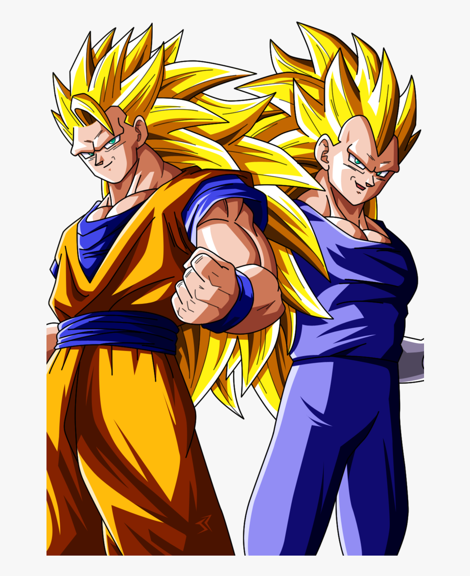 Goku And Vegeta Png.
