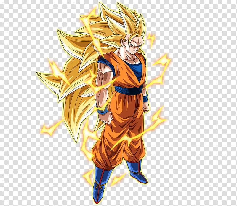 Goku Ssj Rayos, Dragon Ball Z Son Goku Super Saiyan standing.