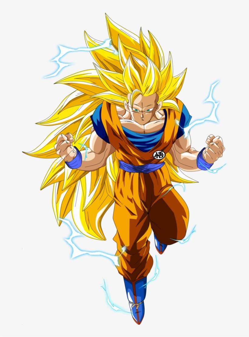 Goku Super Saiyajin.