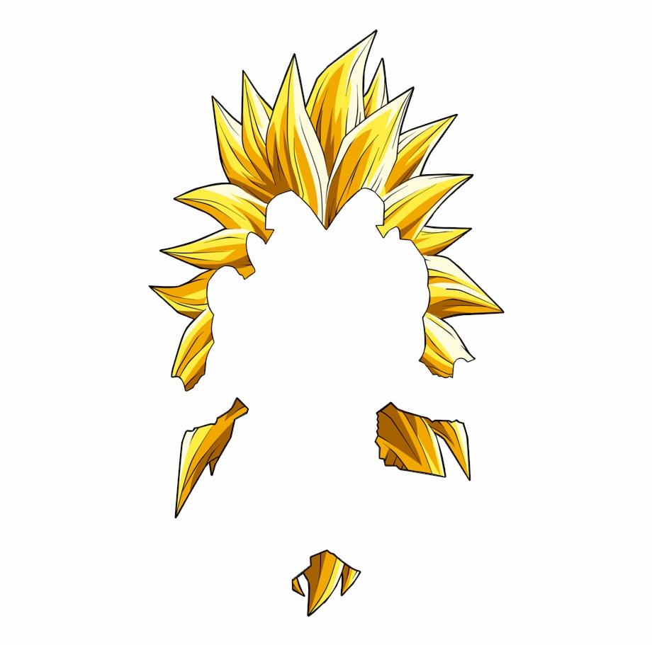 Super Saiyan Hair Png.