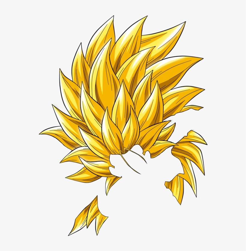 Super Saiyan 3 Hair Png.