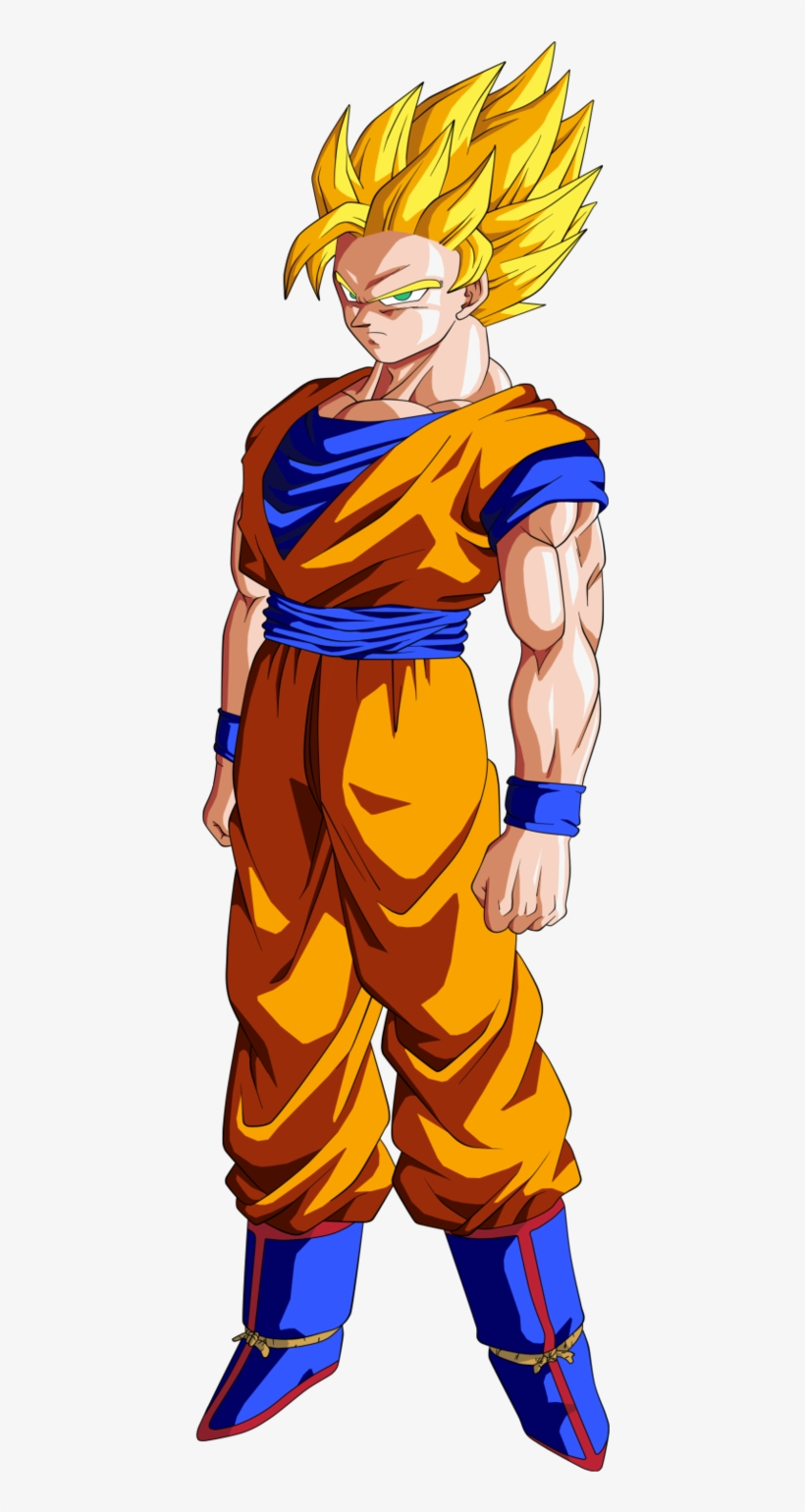 Super Saiyan 2 Goku Dragon Ball Z.