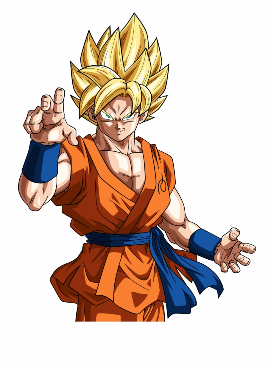 Dragon Ball Clipart Super Saiyan.