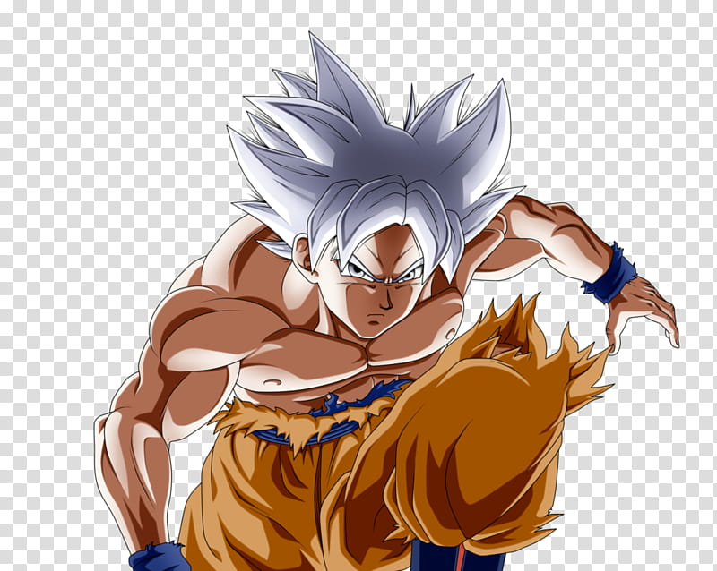 Goku { Mastered Ultra Instinct ] transparent background PNG.
