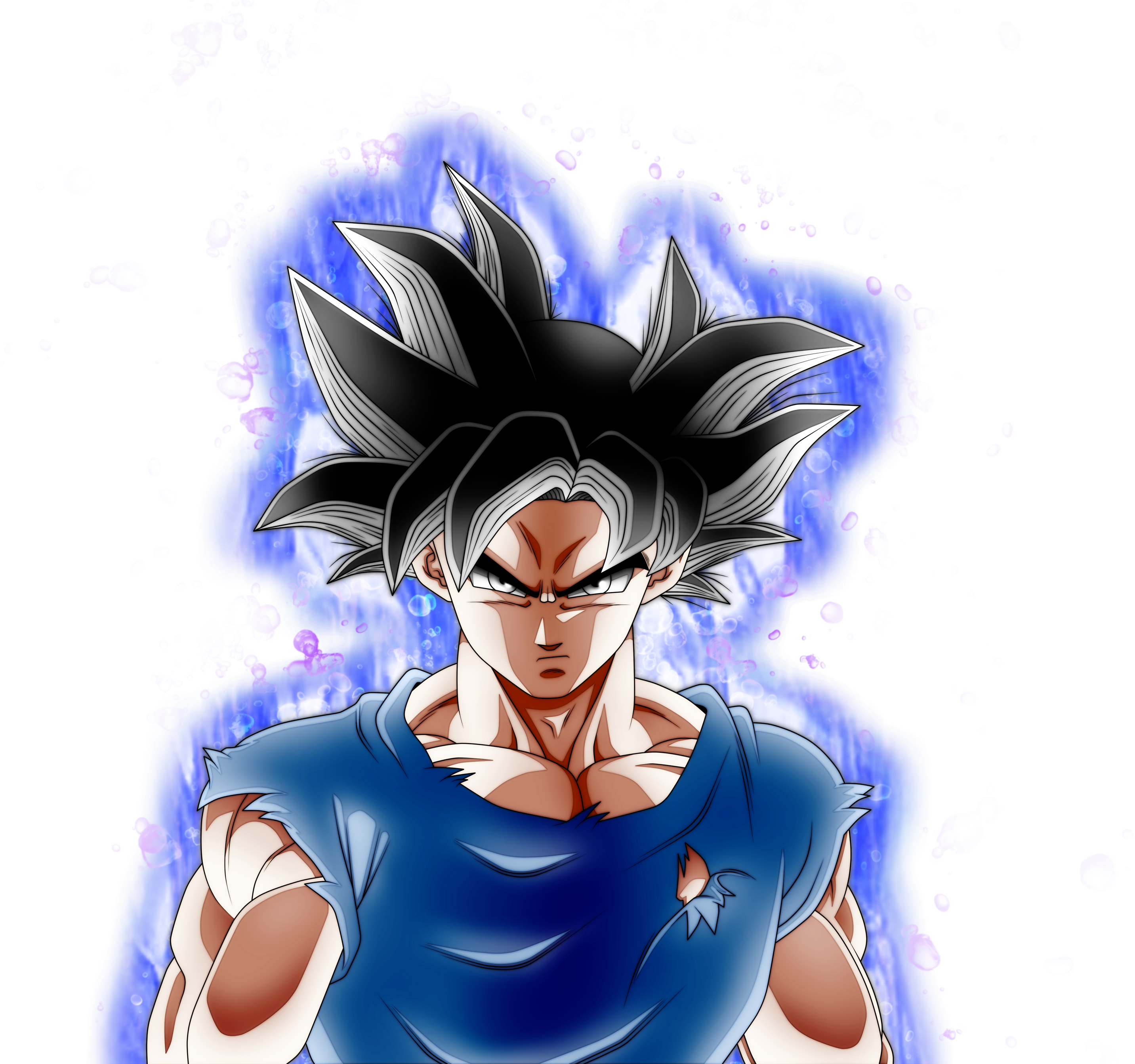 Goku Ultra Instinct Aura By AngelArts2 O #518609.