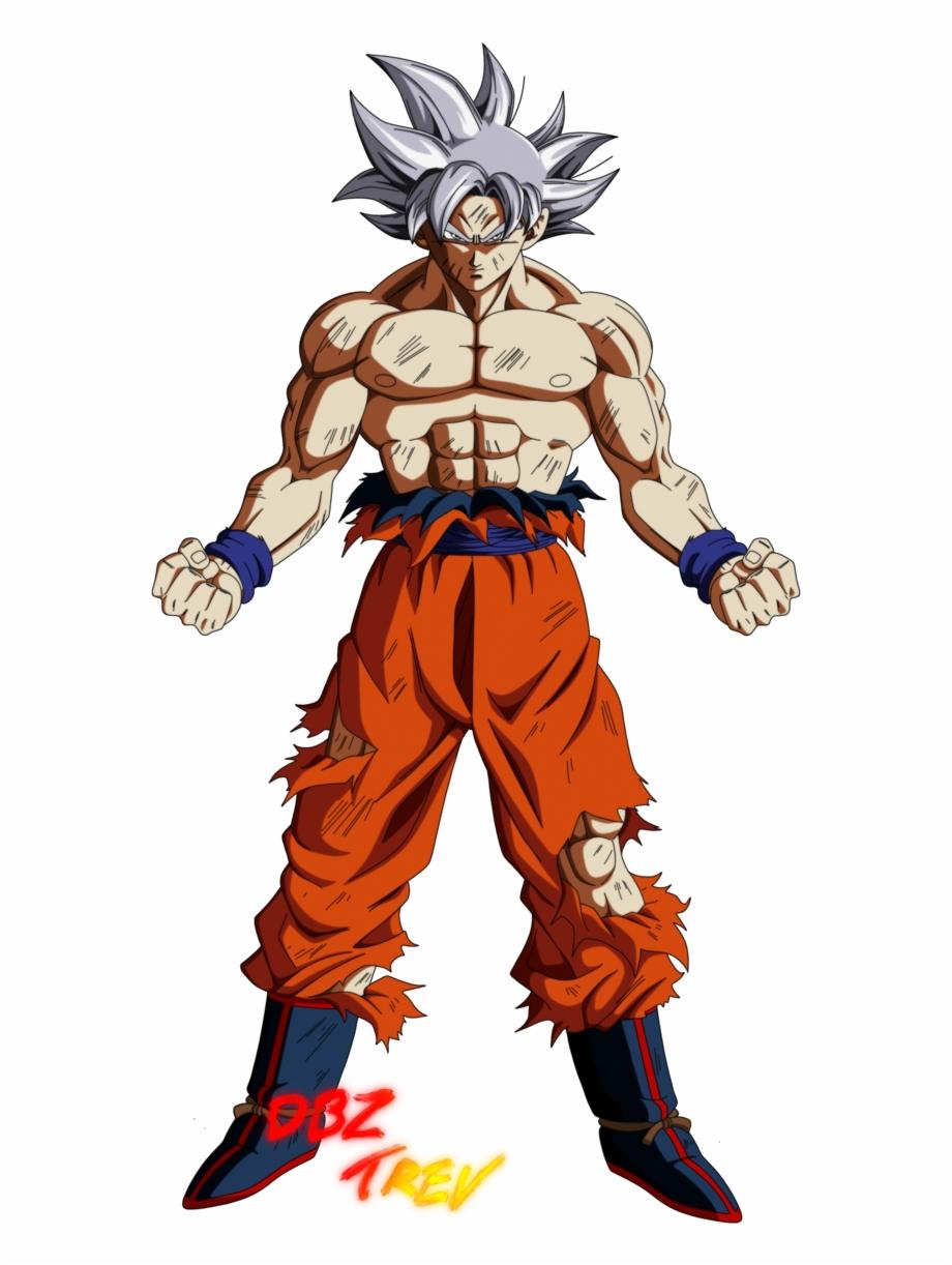 Goku Mastered Ultra Instinct By Dbztrev Super Goku,.