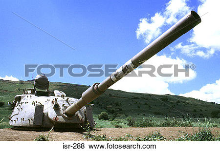 Pictures of Tank Turret Golan Israel isr.
