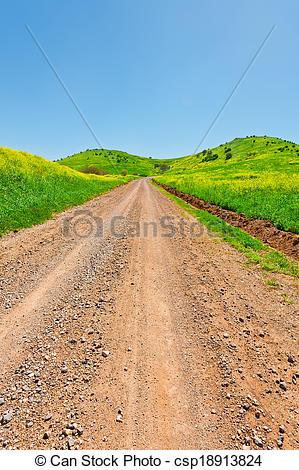 Stock Photo of Golan Heights.