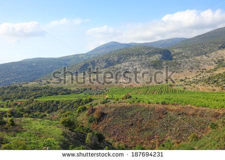 Golan Heights Stock Photos, Royalty.