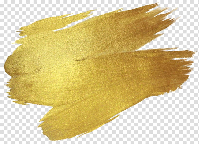 Gold abstract painting, Gold Texture , yellow brush.