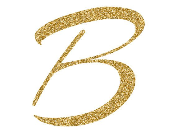 Gold Alphabet Clipart, Gold Glitter Letters, Numbers Clipart.
