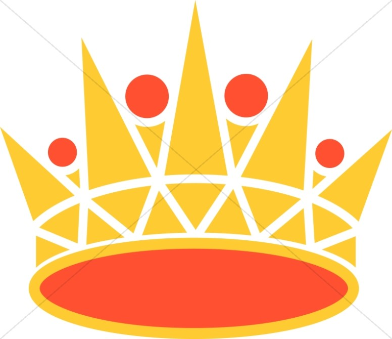 Gold and Orange Crown.