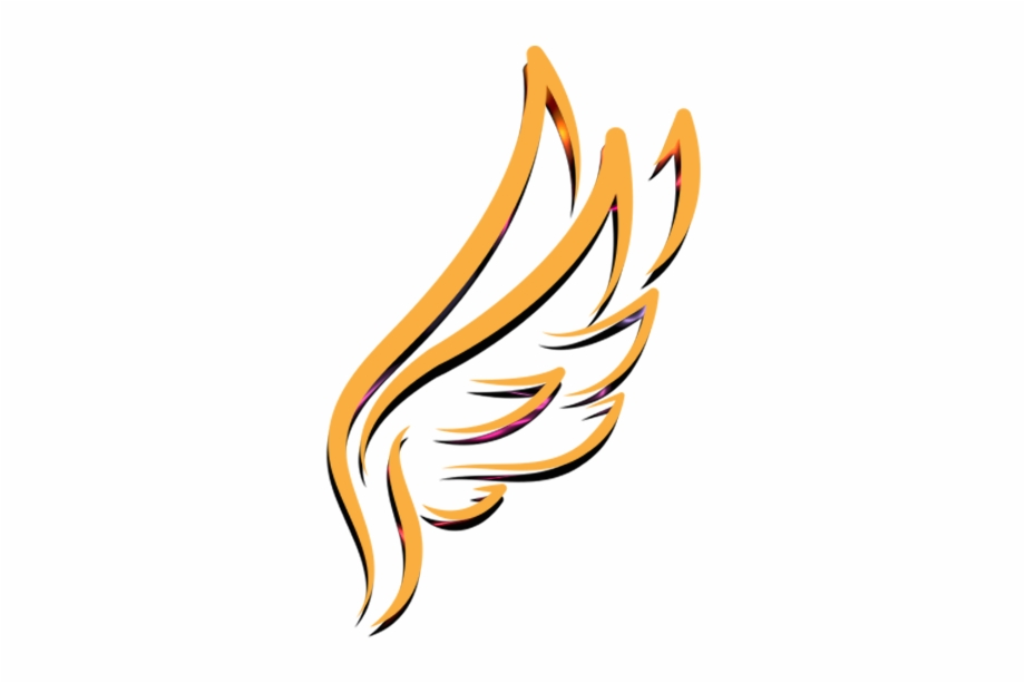 Gold Angel Wings Png.