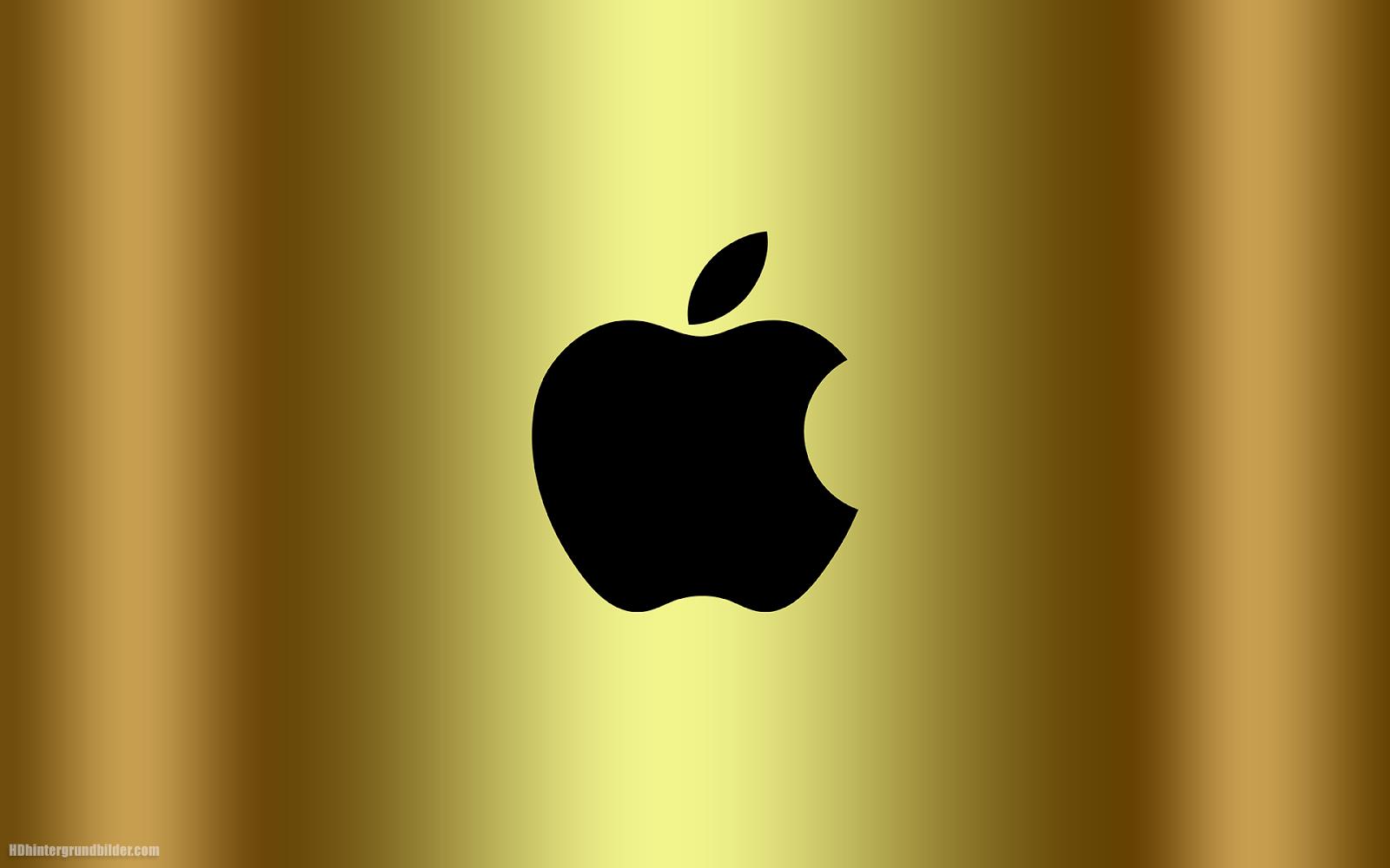 Golden Apple Logo Wallpapers.