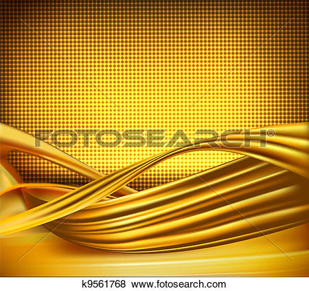 Clip Art of Business elegant gold background k9561768.