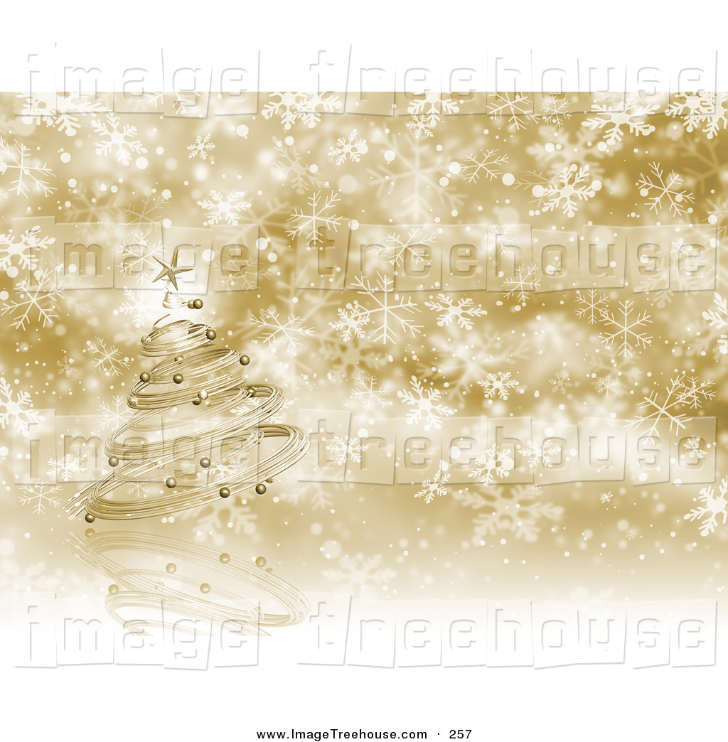 Chritmas gold background clipart.