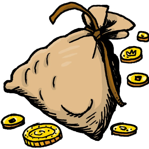Bag Of Gold Clipart.