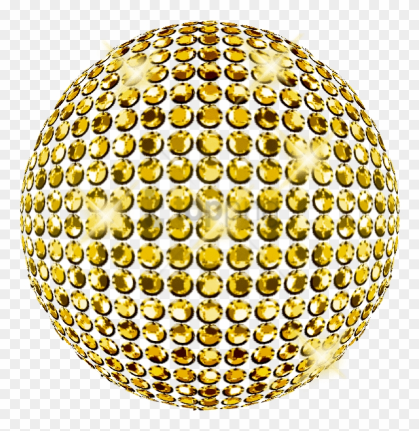 Free Png Gold Disco Ball Png Png Image With Transparent.