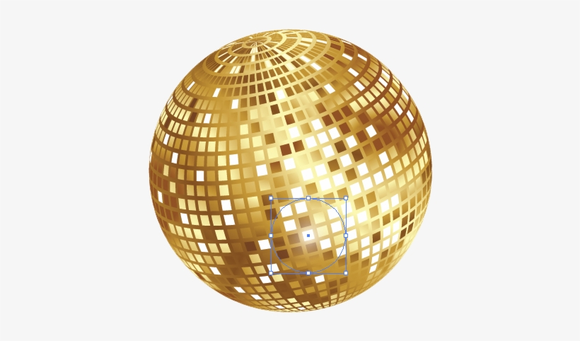 Gold Disco Ball Png Group (+), HD Png.