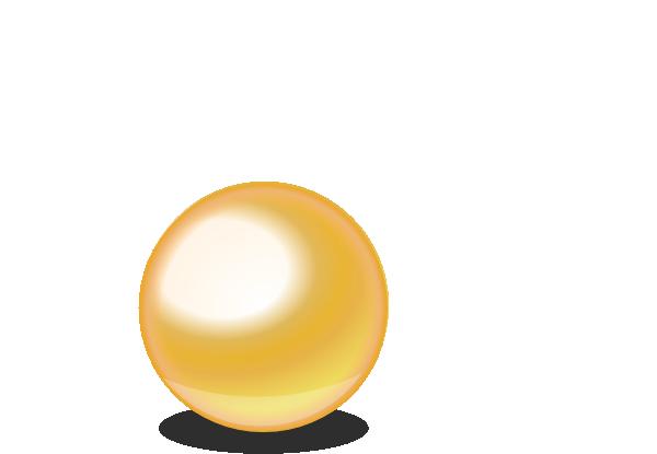 Gold Ball Clip Art at Clker.com.