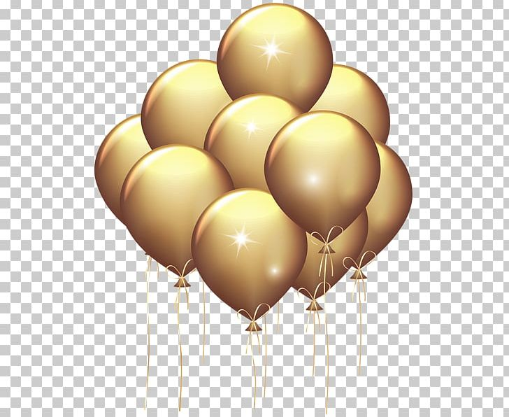 Balloon Gold Party PNG, Clipart, Balloon, Balloon Clipart.