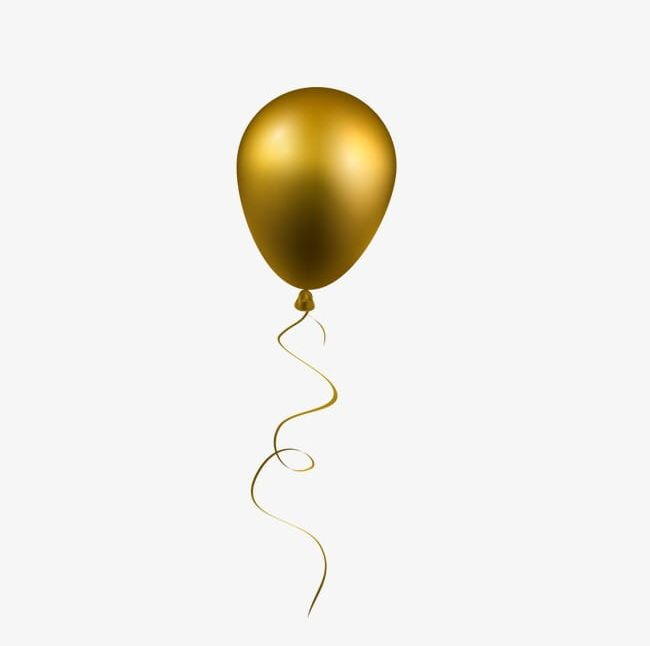 Gold Balloon PNG, Clipart, Balloon, Balloon Clipart, Gold.