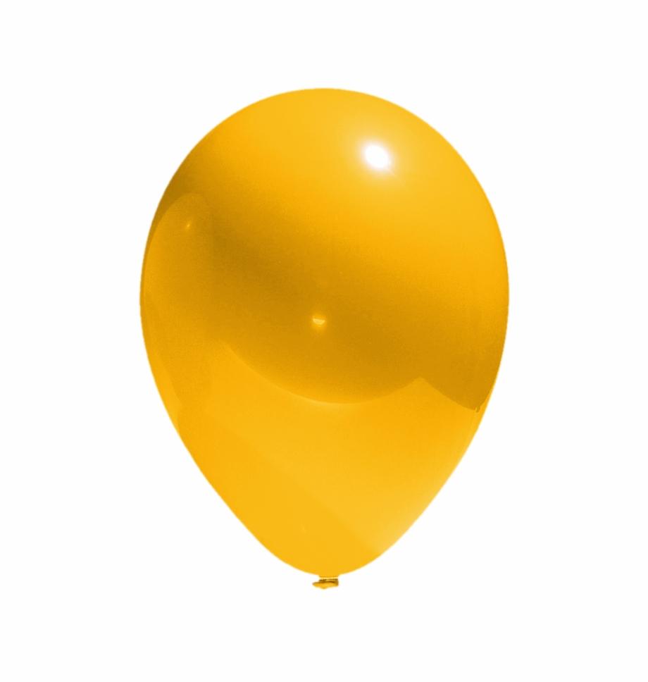 Ballons Clipart Gold.