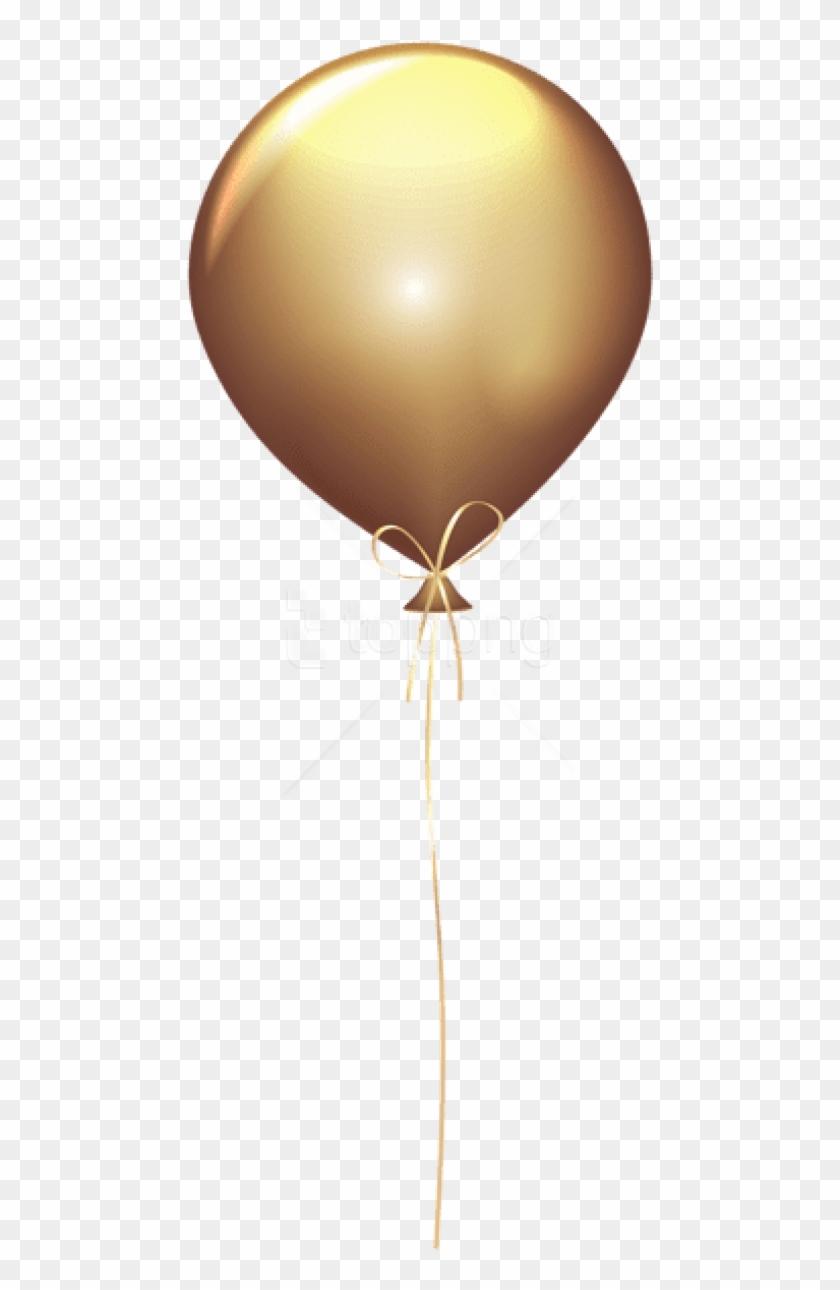 Golden Balloons Png.