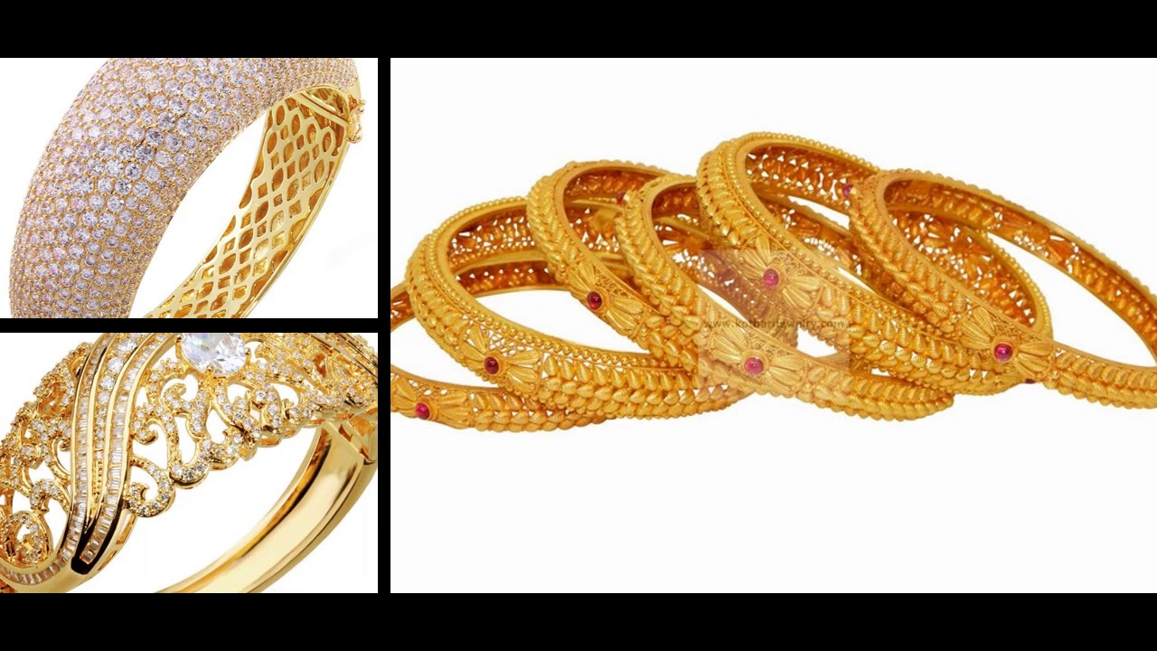 Fantastic Gold Bangles Designs.