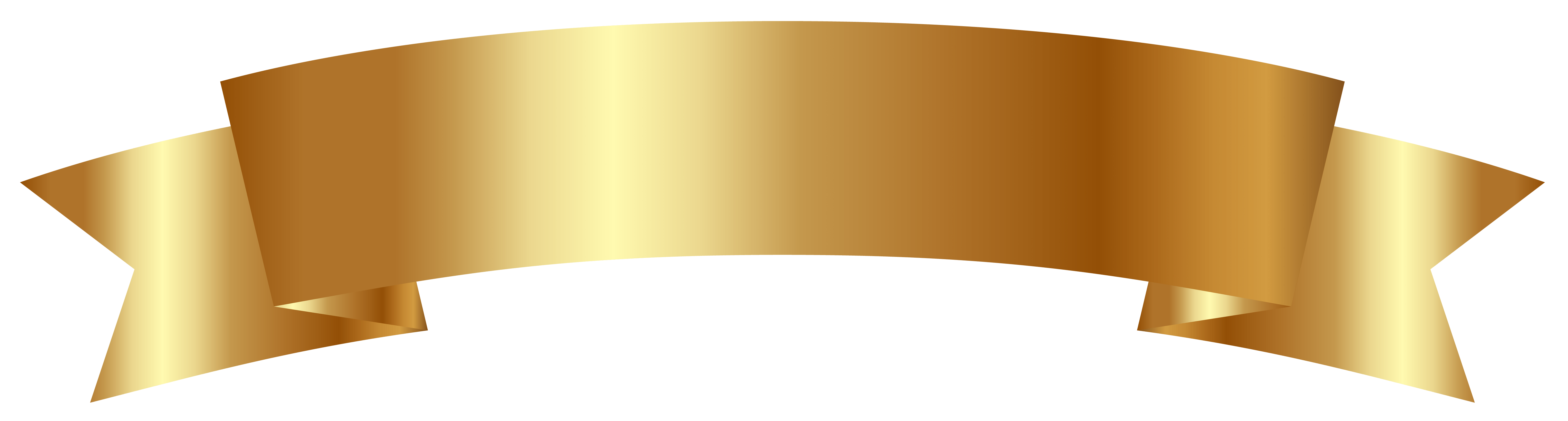Gold banner clipart » Clipart Portal.
