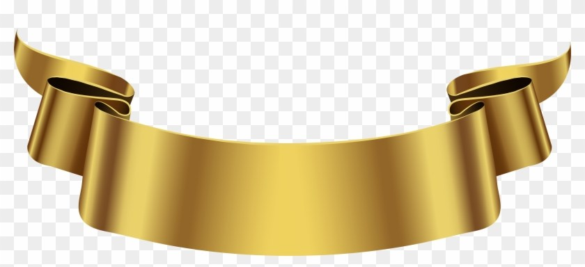 Gold banner clipart 4 » Clipart Portal.