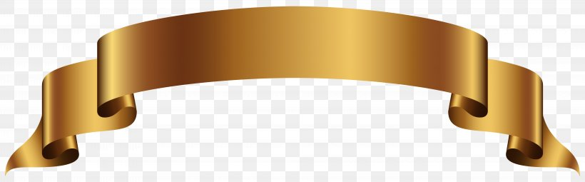 Banner Gold Clip Art, PNG, 8000x2489px, Banner, Gold, Metal.