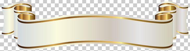 Gold Banner PNG, Clipart, Angle, Art White, Banner, Brass, Clip Art.