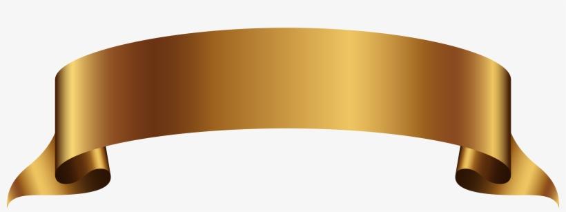 Golden Banner Transparent Png Clip Art Image Gallery.