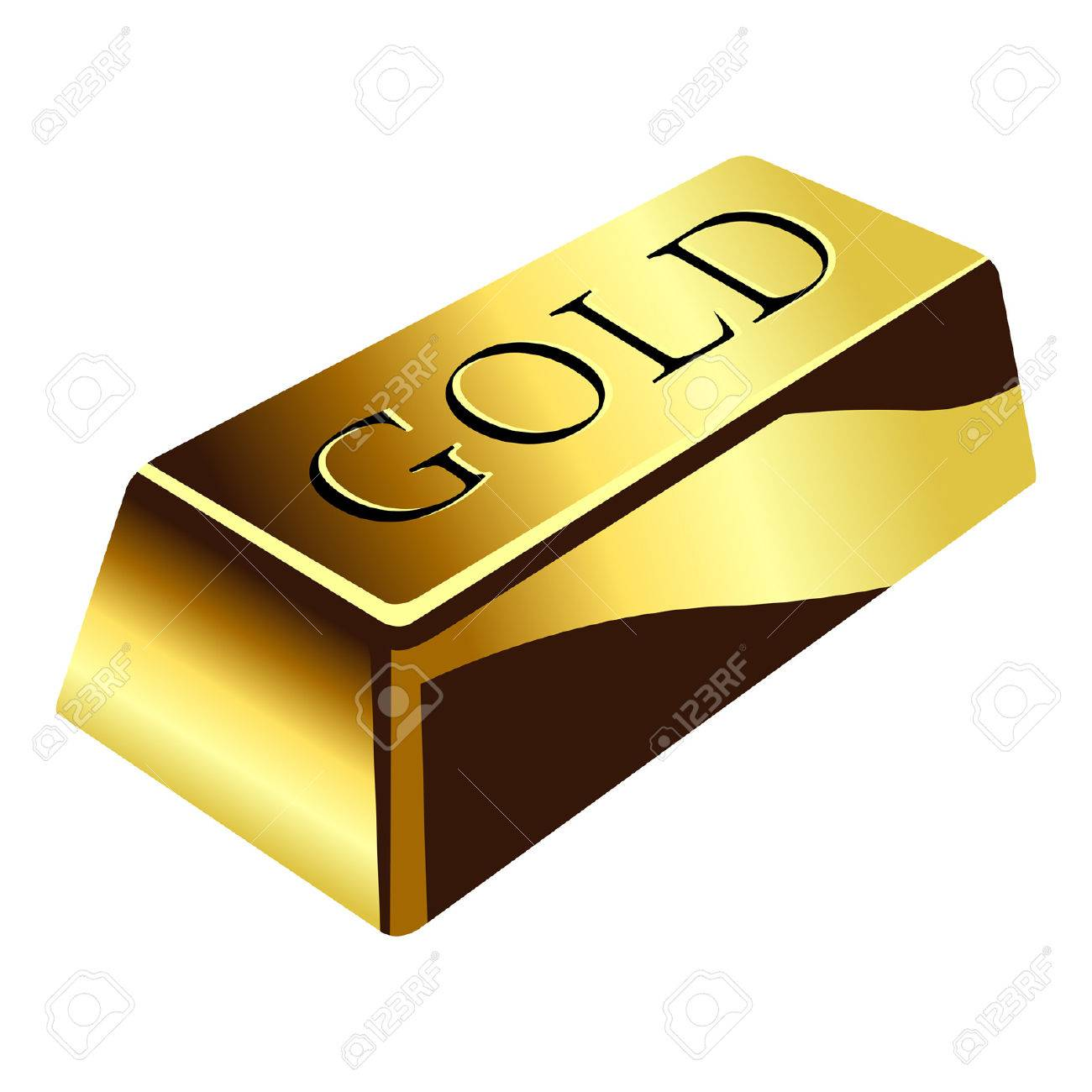 Gold Bar Clipart & Free Gold Bar Clipart.png Transparent.
