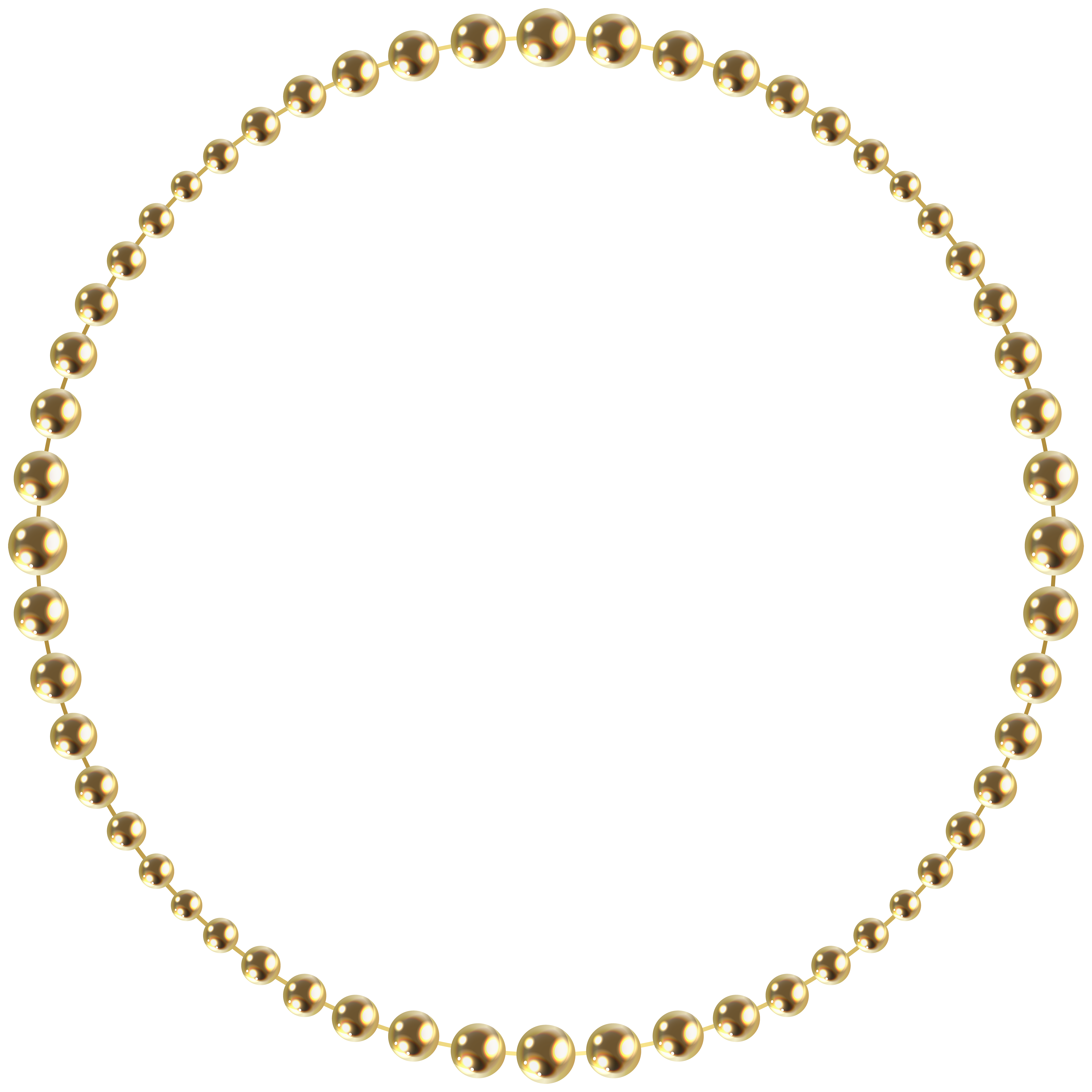 Pearl clipart gold bead, Pearl gold bead Transparent FREE.