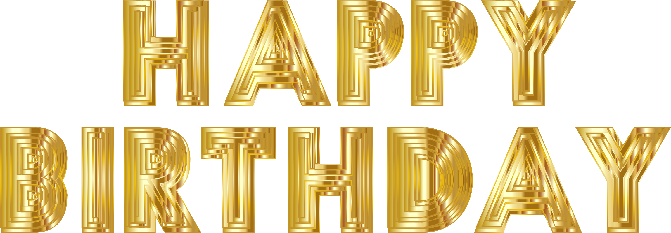 Free Birthday Cliparts Gold, Download Free Clip Art, Free Clip Art.