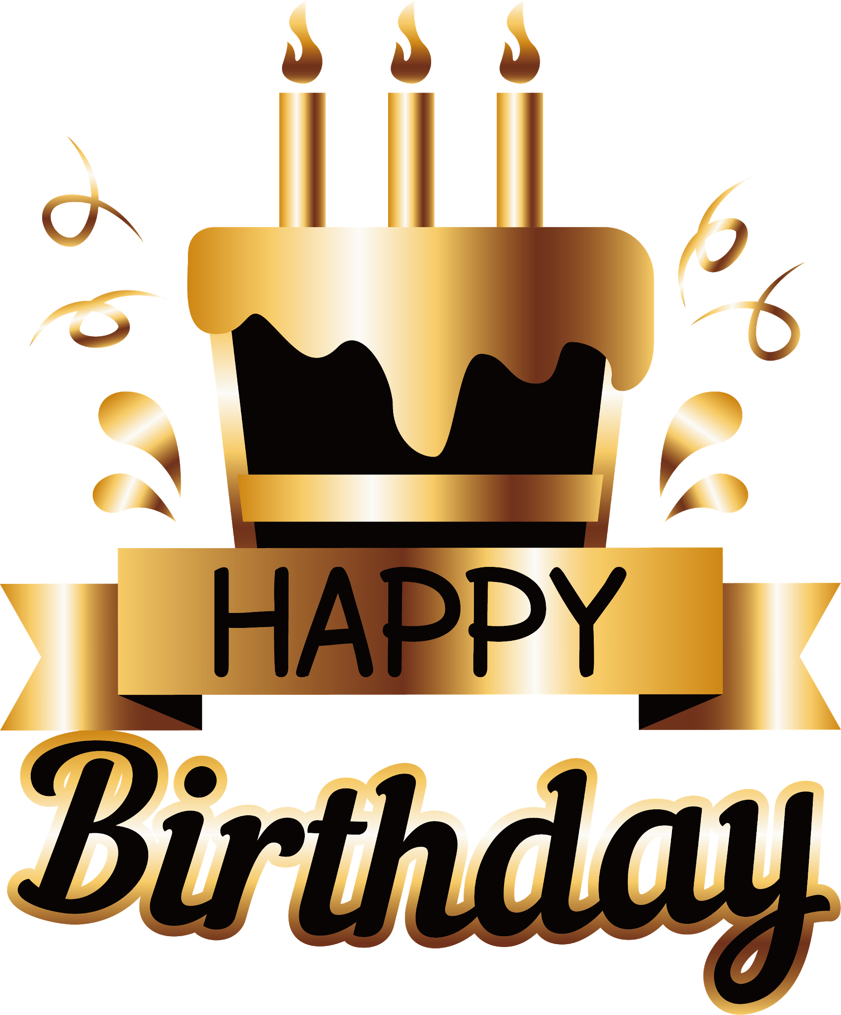 Pin by pngsector on Happy Birthday Transparent PNG image & Clipart.