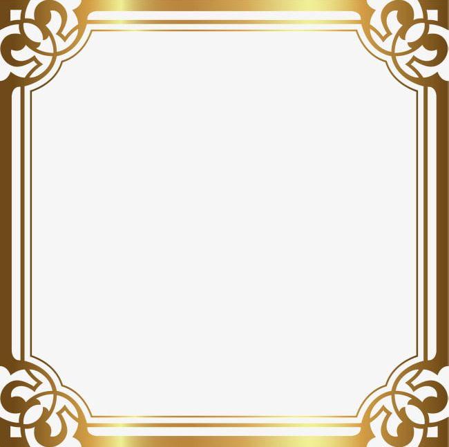 Luxury Gold Border PNG, Clipart, Arc, Border Clipart, Decorative.